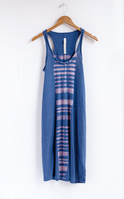 Tank Dress Blue Stripes