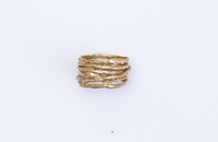 Stack Ring in Brass
