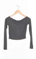 Icon Top Charcoal