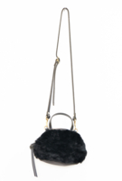 Katie Mini Black Shearling