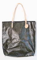 Amie Tote Coated Cotton Black