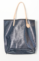 Amie Tote Coated Cotton Navy