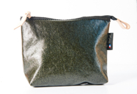 Katy Pouch in Coated Cotton