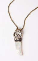 Shell Dagger Necklace