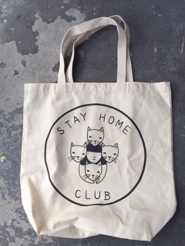 Stay Home Club Stay Home Cats Tote
