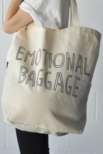 Stay Home Club Emotional Baggage Tote