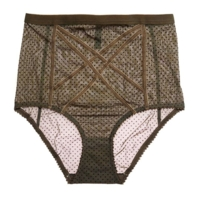 Gigi High Waisted Brief Olive