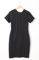Short Sleeve Critical Line Dress