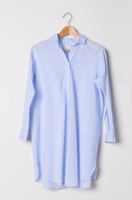Oxford-blue Shirt Dress