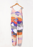 Abstract Chain Jumpsuit