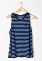 Striped Blues Tank