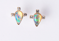 Gia Earrings Opal