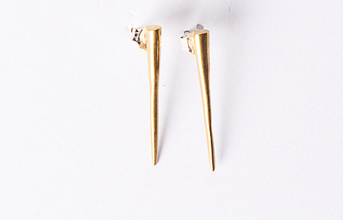 K/LLER Quill Spike Earrings