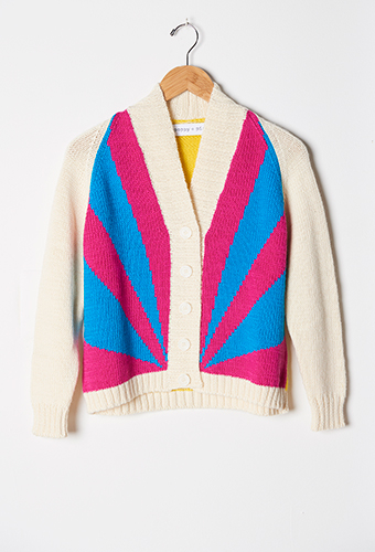 Poppy and Pima Sunrise Cardigan