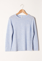 Blue Flecked Cashmere