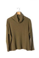Cowl Turtleneck Olive