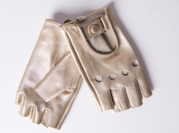 Gold Driver Gloves
