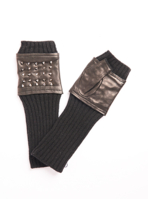 Studded Fingerless