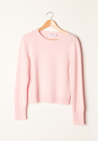 Cropped Crew Pink