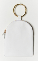 Ring Pouch Large White