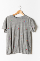Boxy Tee Heather Floral