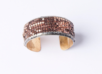 One Inch Rose Gold Cuff