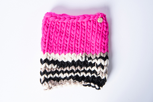 Mischa Lampert Snood Fuschia Melange