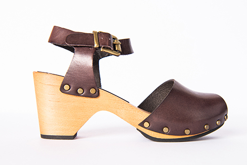 Lisa B. Peep Toe Brown