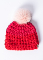 Beanie Colorblock Red