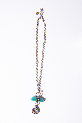 Mikal Winn Amazonite Crystal Necklace