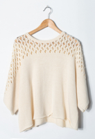 Lace Loose Pullover