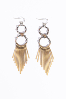 Paddle Fringe Earrings