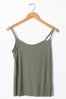Butter Cami Olive