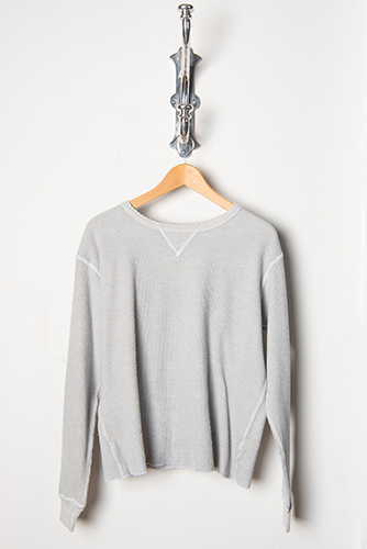 Amo Scalloped Thermal H Grey