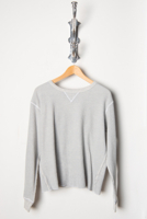 Scalloped Thermal H Grey