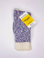 Ragg Sock Purple Marl