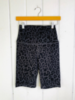 Black Leo Bike Short