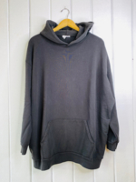 Oversized Hood Pirate Blk