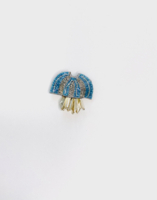 Jellyfish Brooch